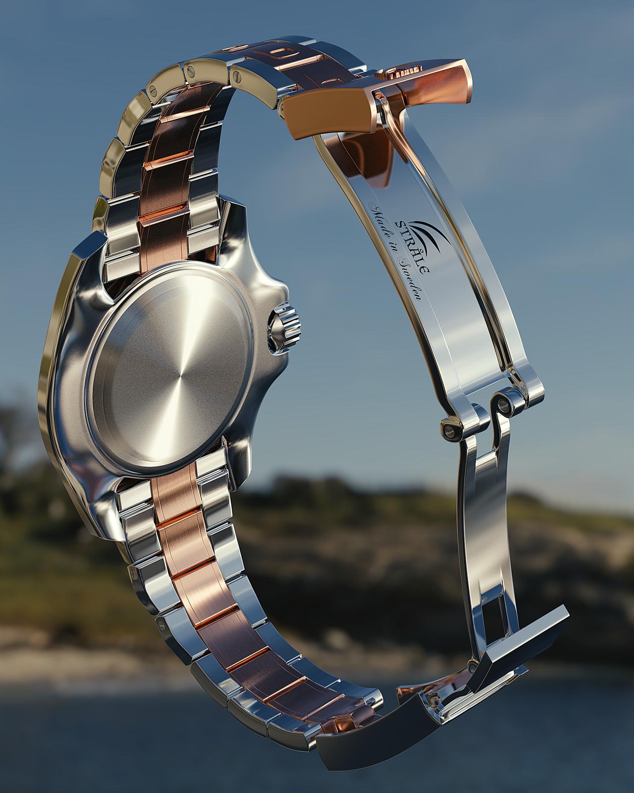 "Stråle ""Evig Rörelse"" - Luxury Watch Concept"
