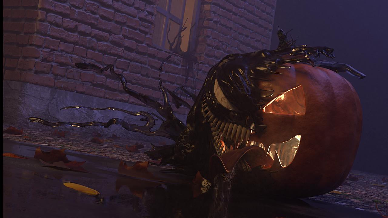 Venom Pumpkin