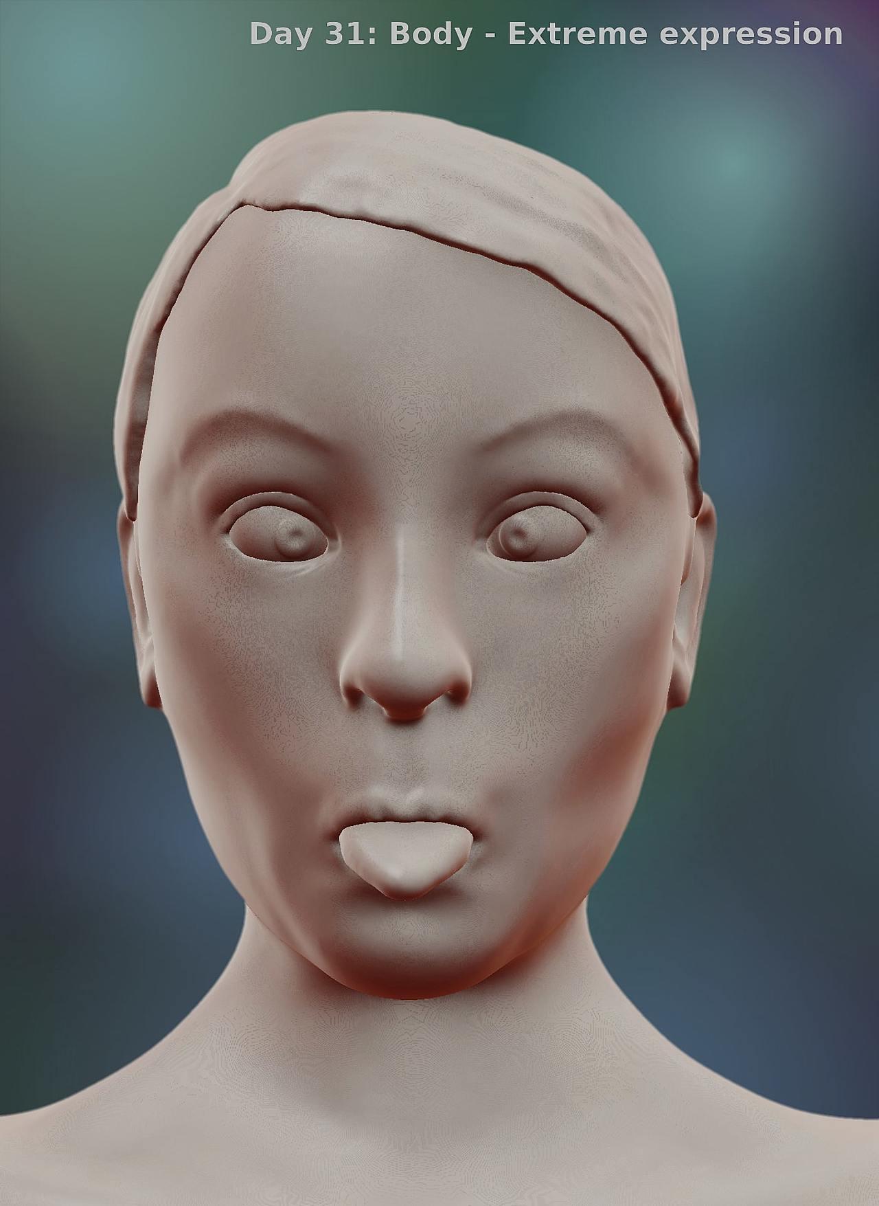 SculptJanuary19: Day 28-31
