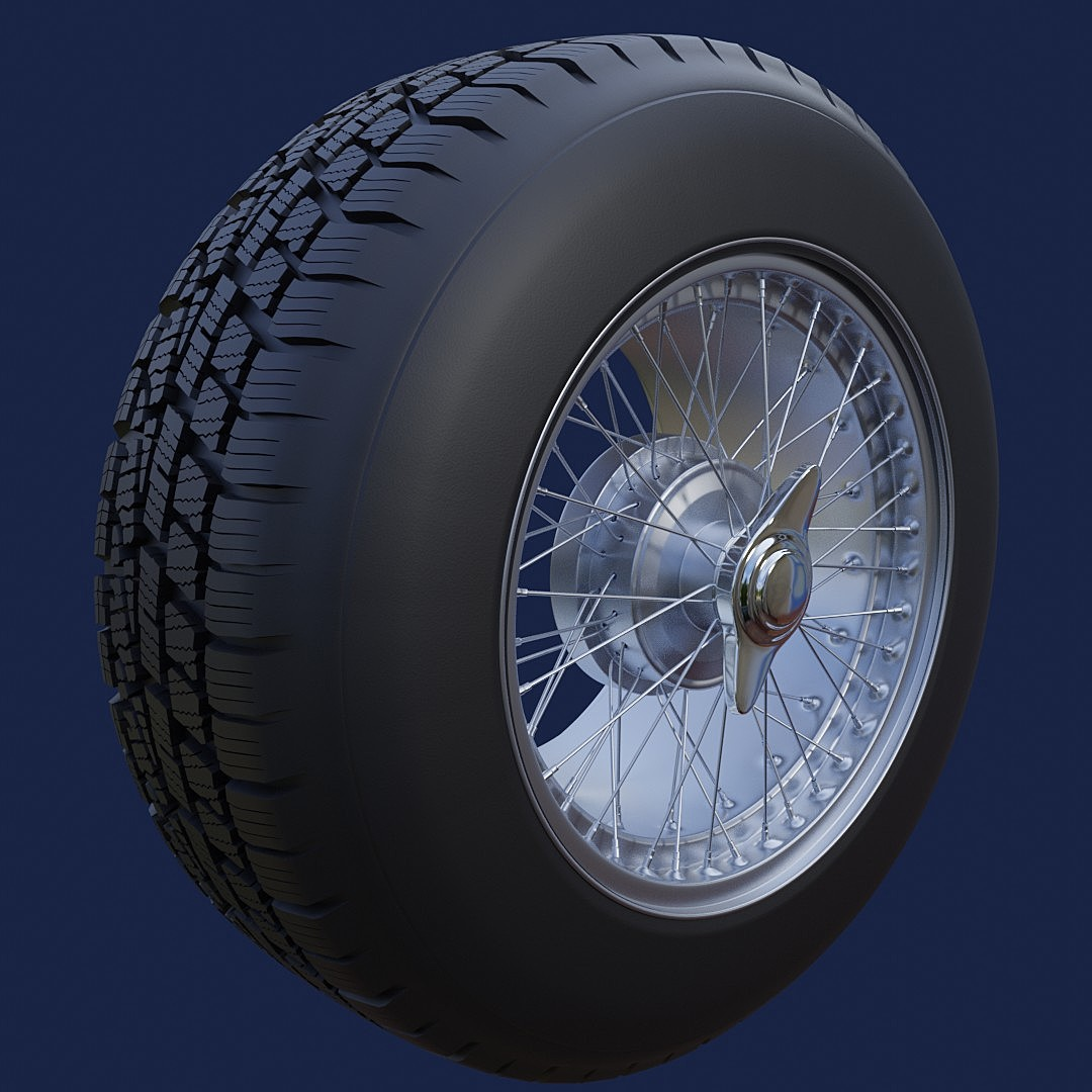Wheel from modeling exercise