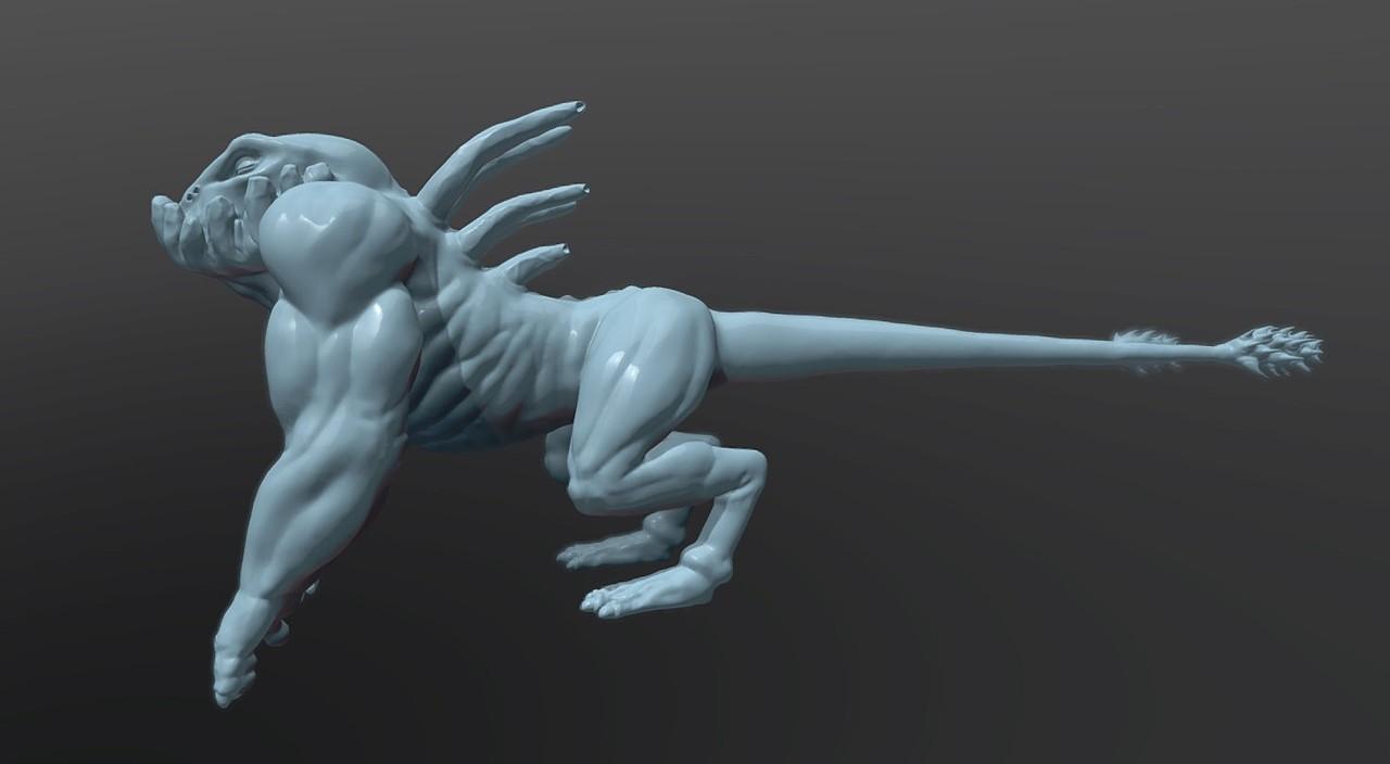 Monster Sculpt