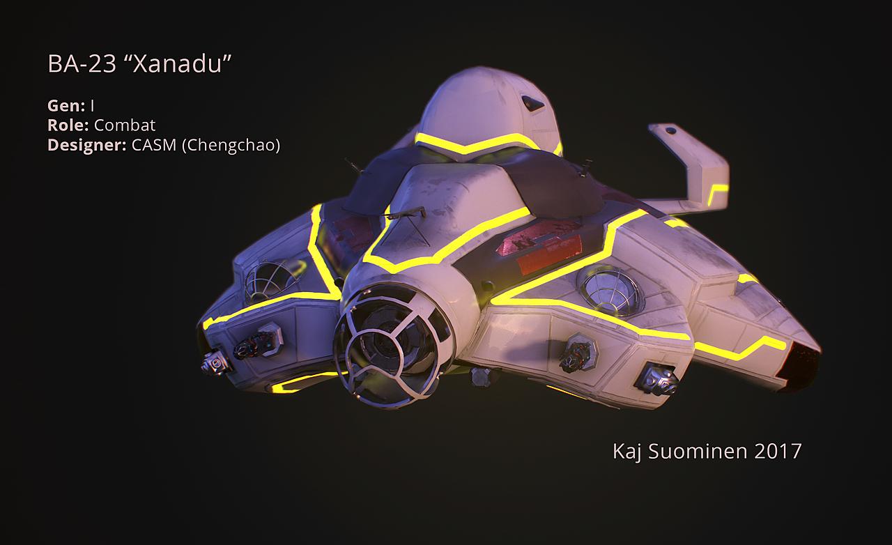 """BA-23 """"Xanadu"""""""
