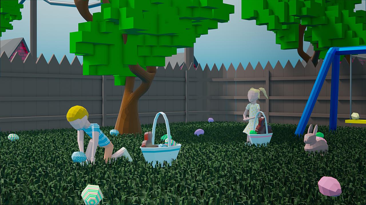 Easter Egg Hunt (Low Poly, 2019)