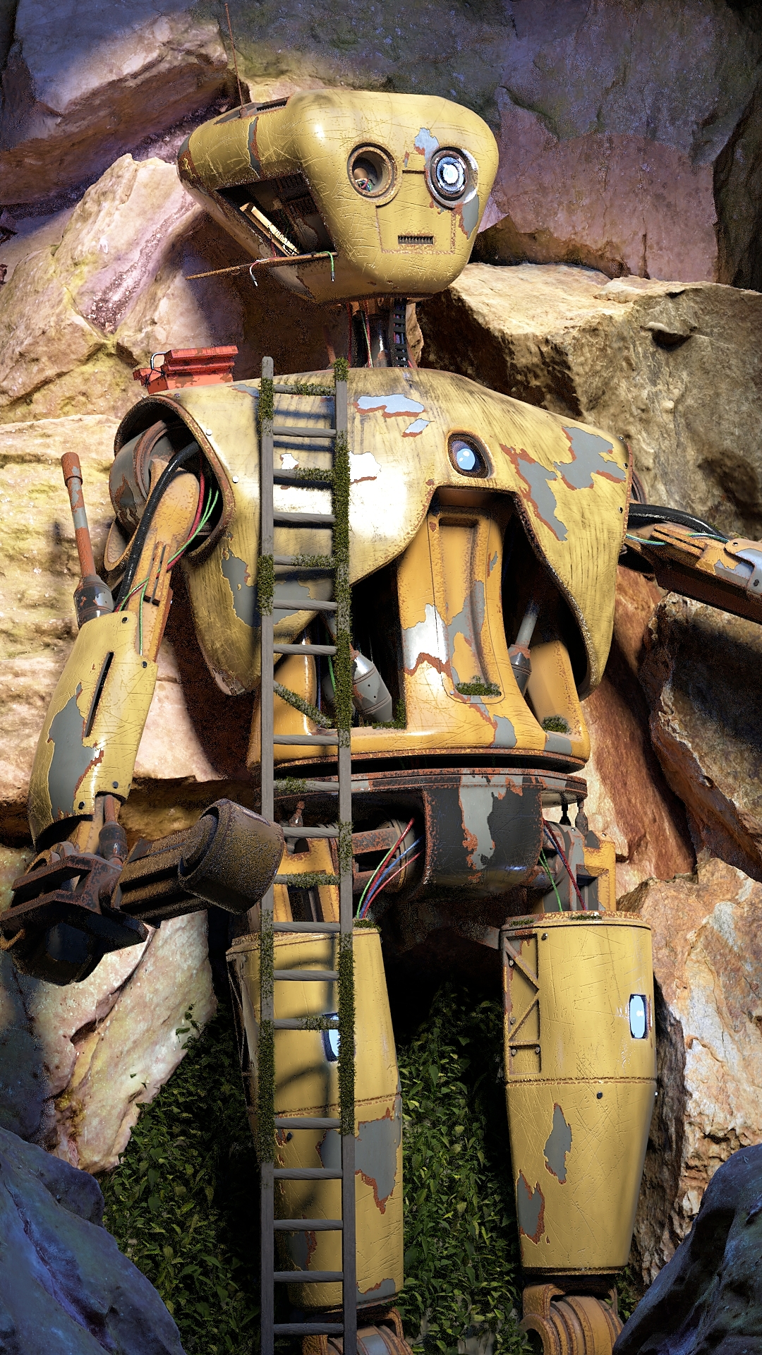 Ancient Robot