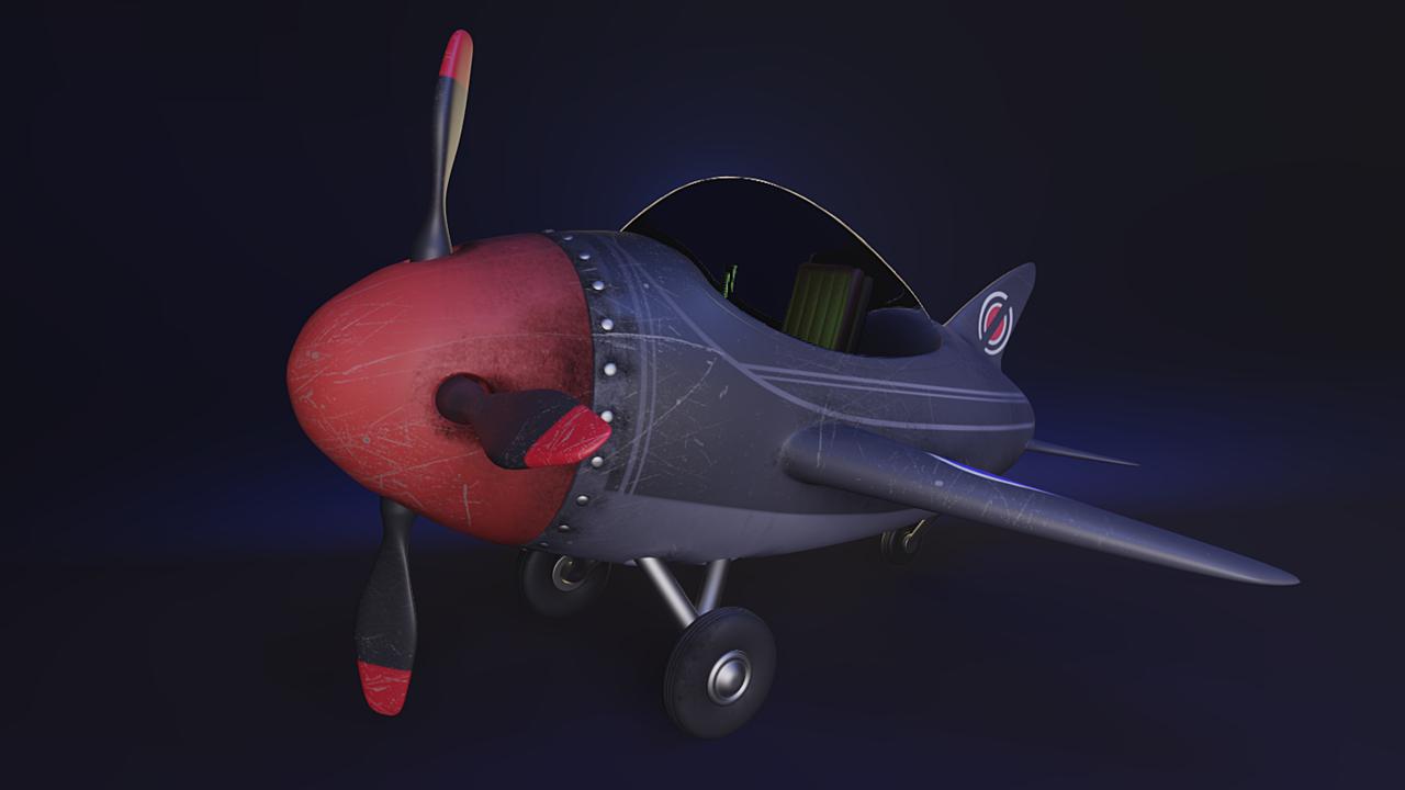 Stylized Airplane