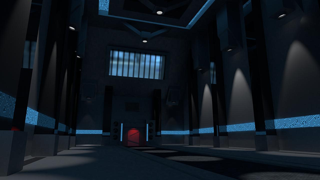 Futuristic Hallway