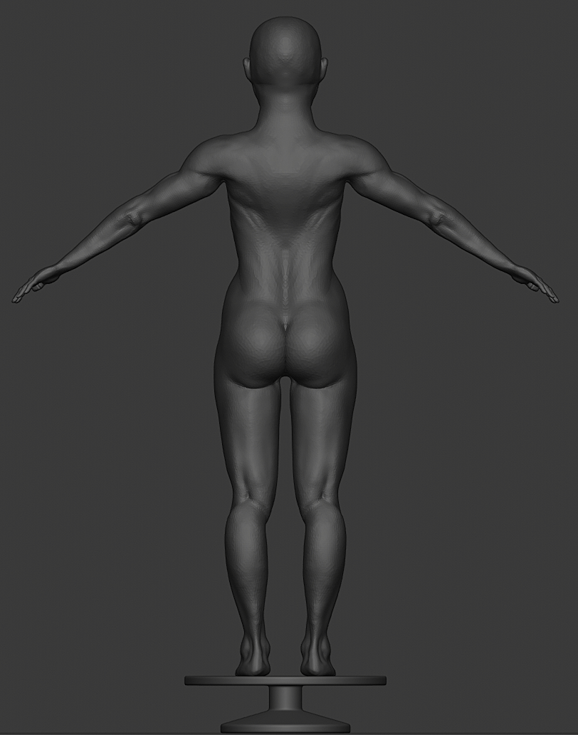 Human Body Sculpt for Critique
