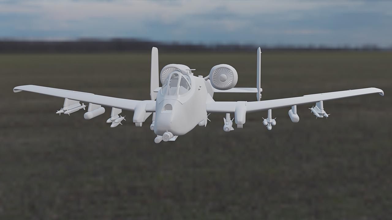 [WIP] - Fairchild Republic A-10C Thunderbolt II