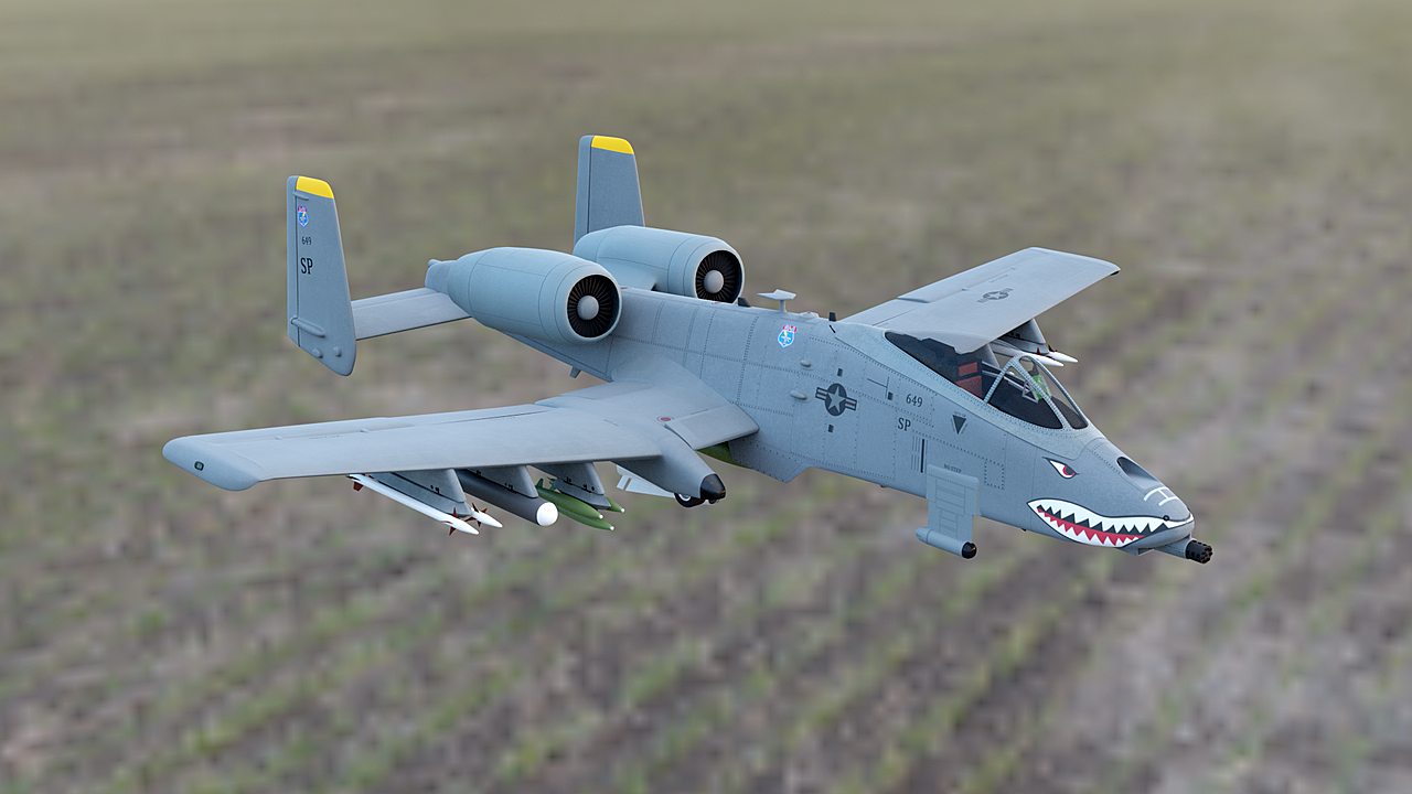 Fairchild Republic A-10C Thunderbolt II - Final Model