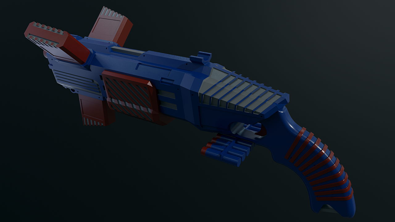 Triplet Blaster (nerf gun)