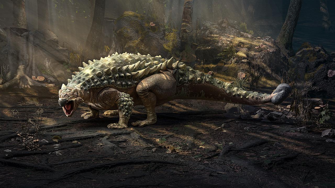 Saichania Dinosaur
