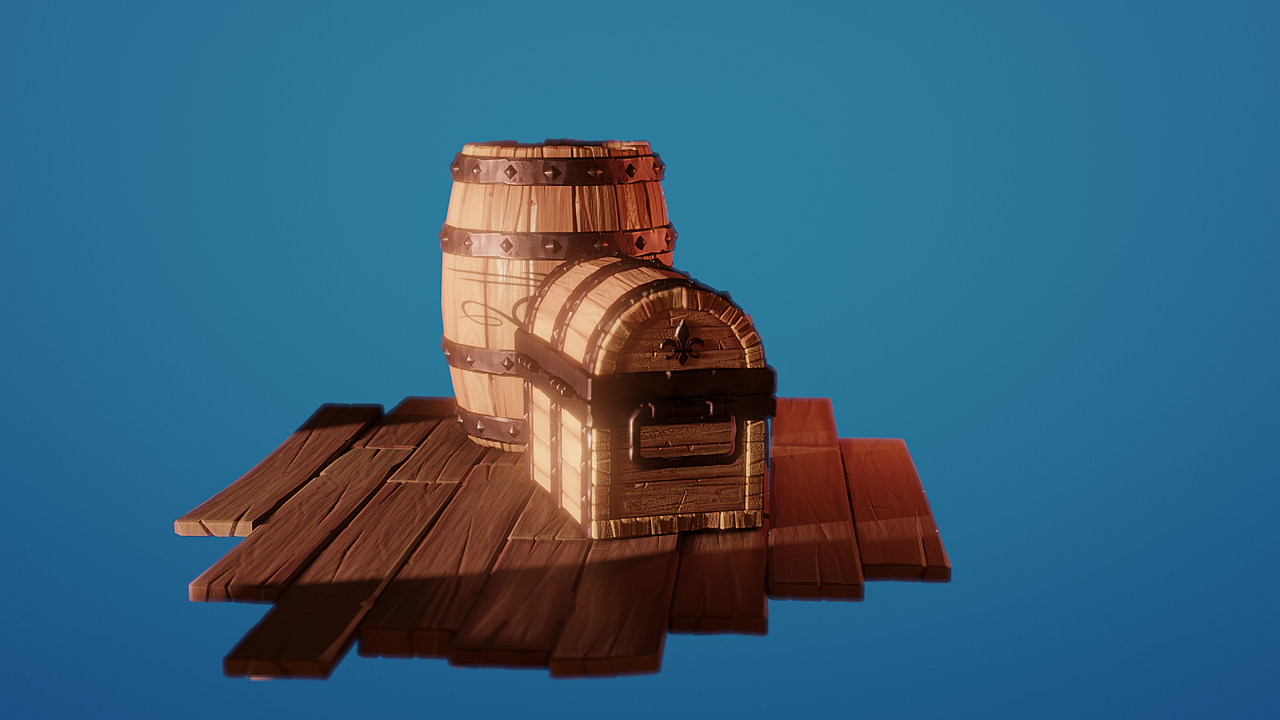 Chest and barrel