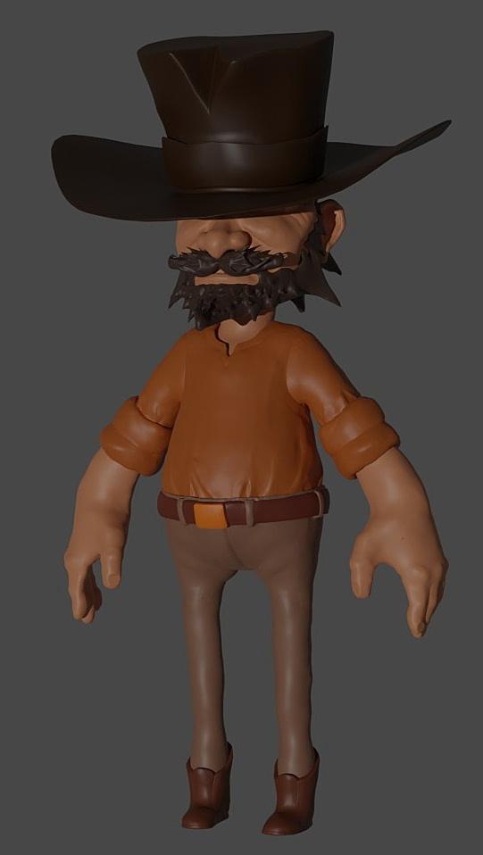 Wrangler [Sculpting the Wrangler Game Character]