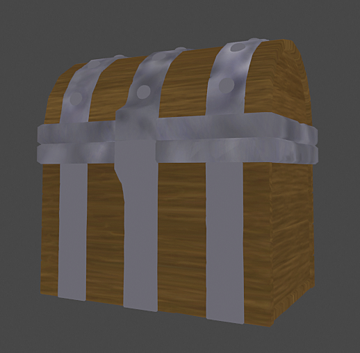 Modeling, Texturing and Shading a Treasure Chest in Blender 2.8 WIP