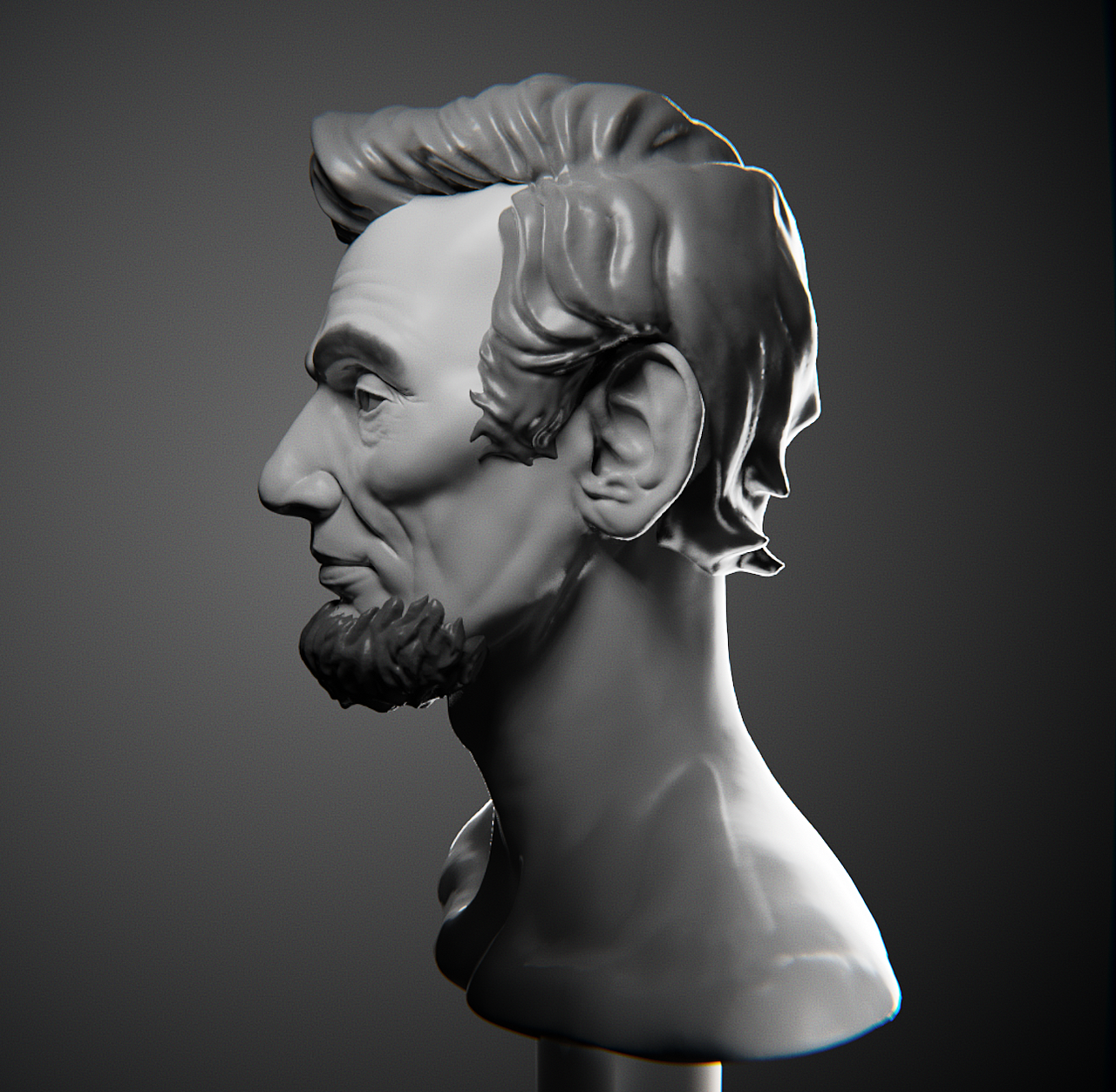 Likeness Portrait: Abe Lincoln