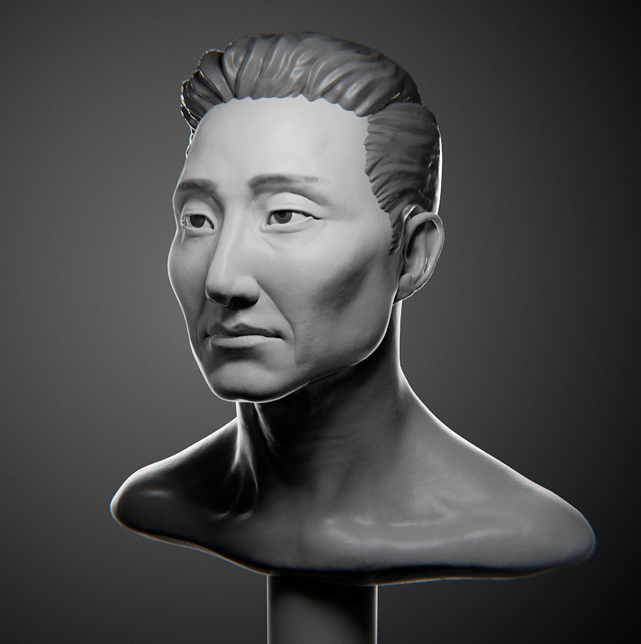 Likeness Portrait: Daniel Dae Kim