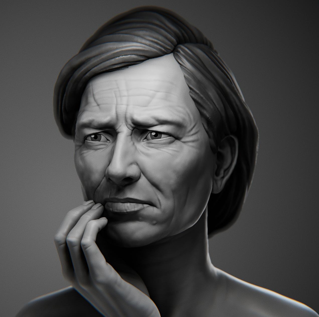 Likeness Portrait: Florence Owens Thompson
