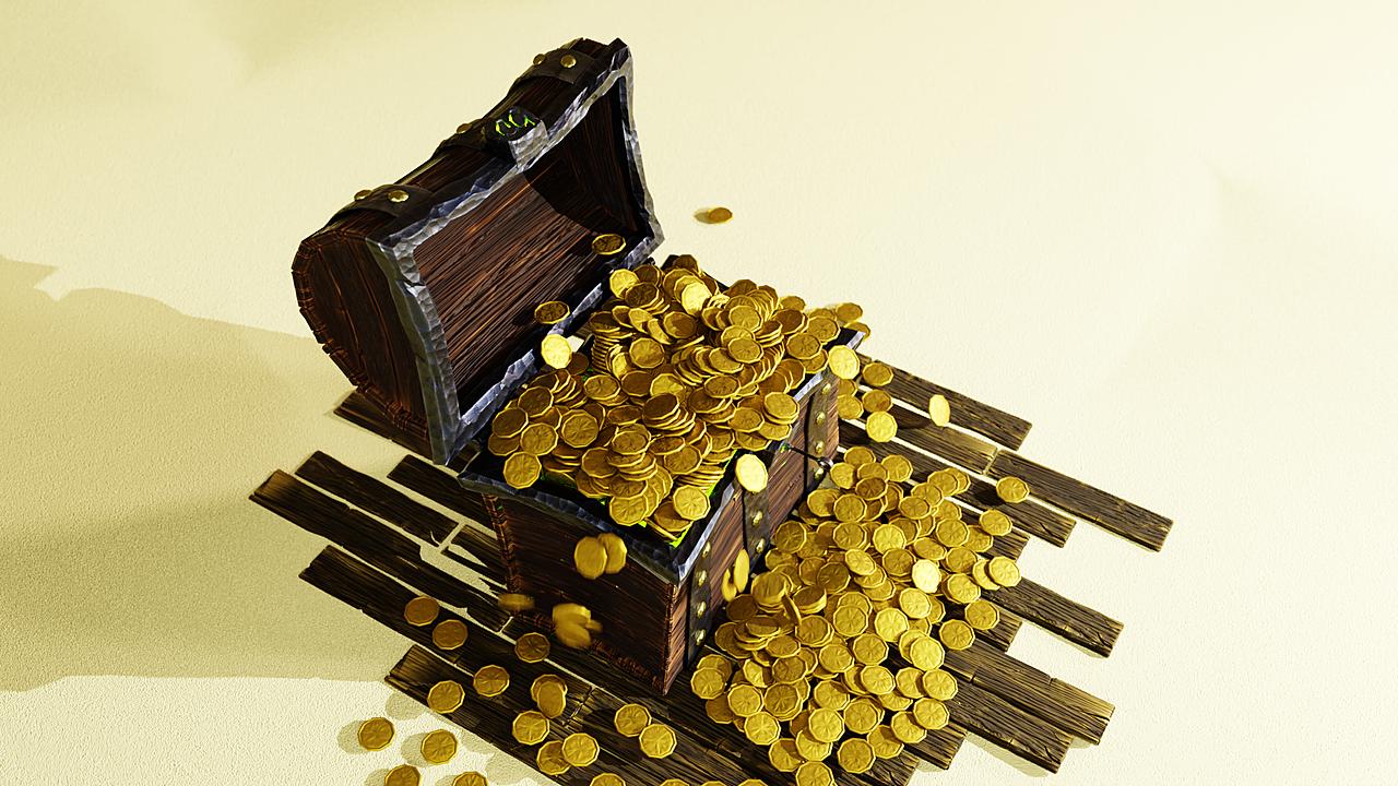 Treasure Chest Renders