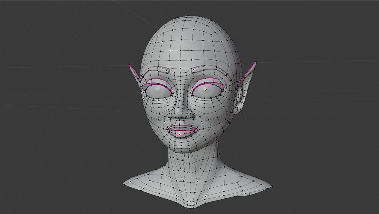 Edge Modeling Head