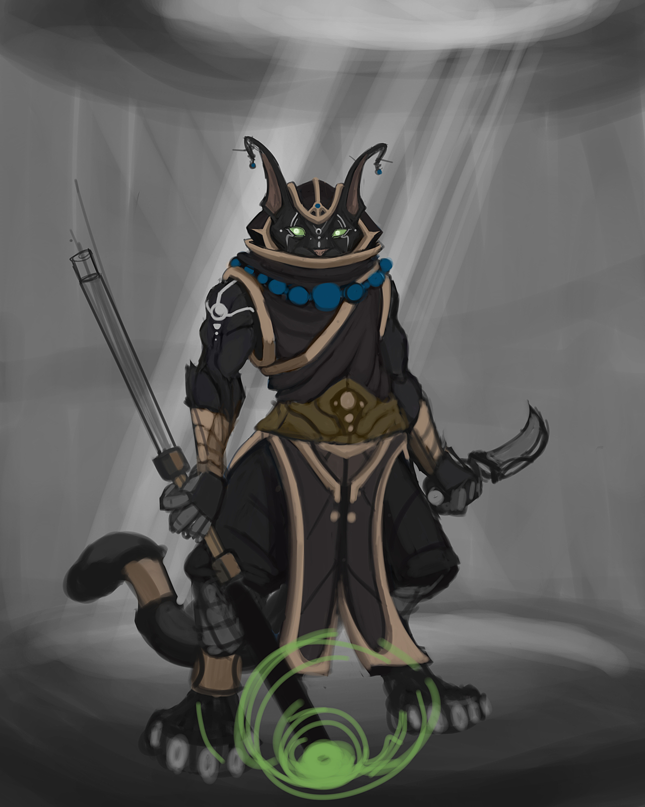 Shade D D Tabaxi Monk Cg Cookie Available in a range of colours and dnd, rpg, d d, dnd art, dungeon master, dnd classes, monk, dungeons and dragons, d and d, roleplay, role dungeons and dragons, dnd, tabaxi, monk, tabaxi monk, neon, dr smash. shade d d tabaxi monk cg cookie