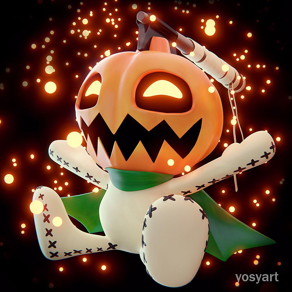 Digimon Pumpkinmon