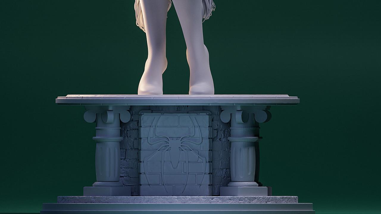 Felicia Hardy Sculpture
