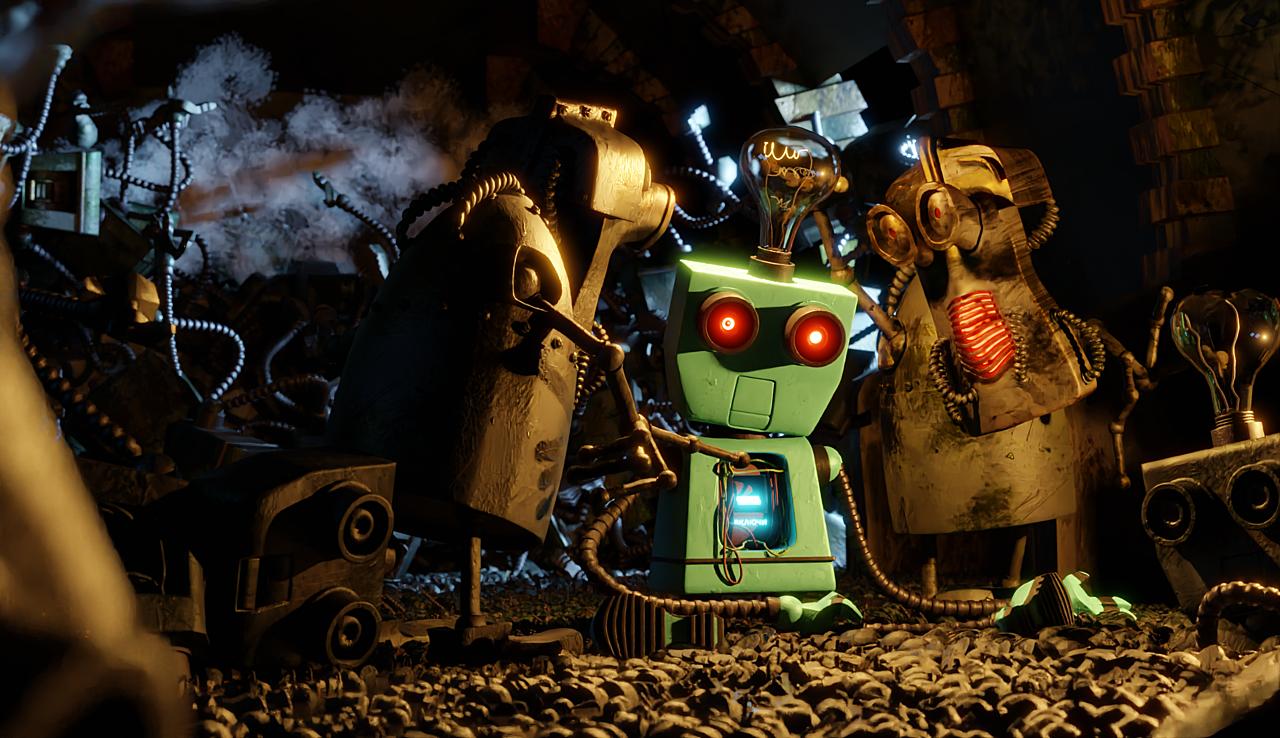 Robot born