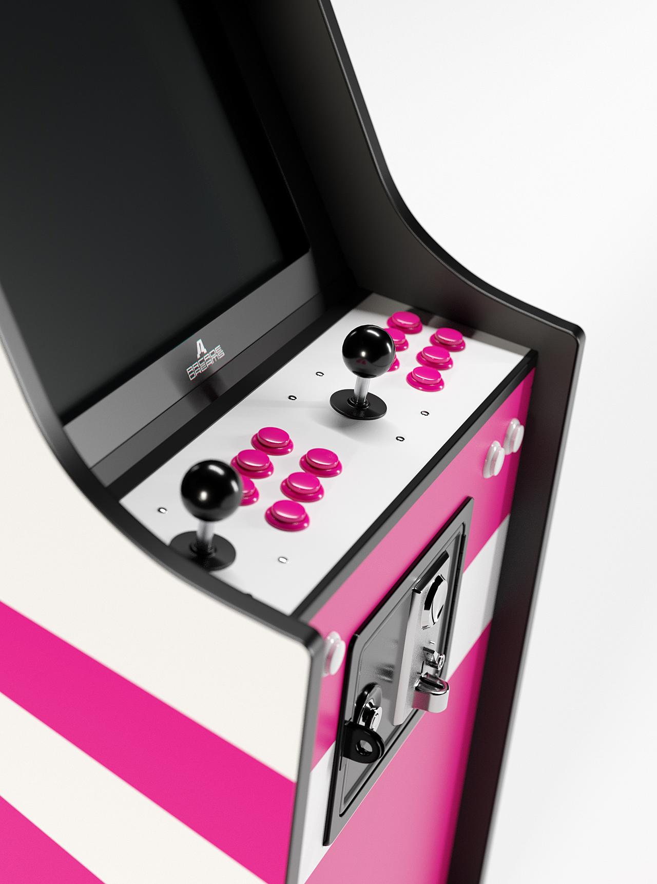 Arcade cabinets