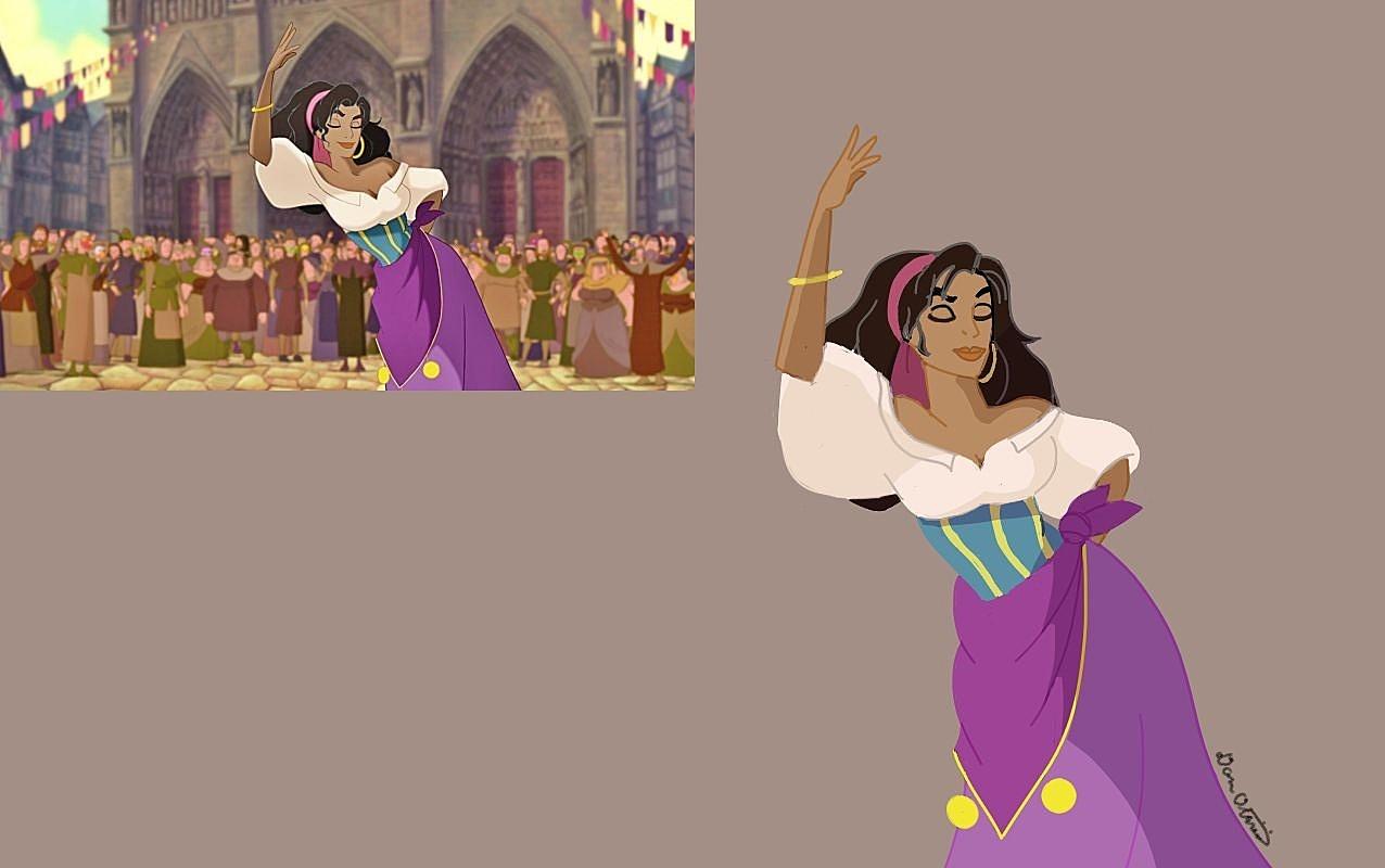 Esmeralda Pose