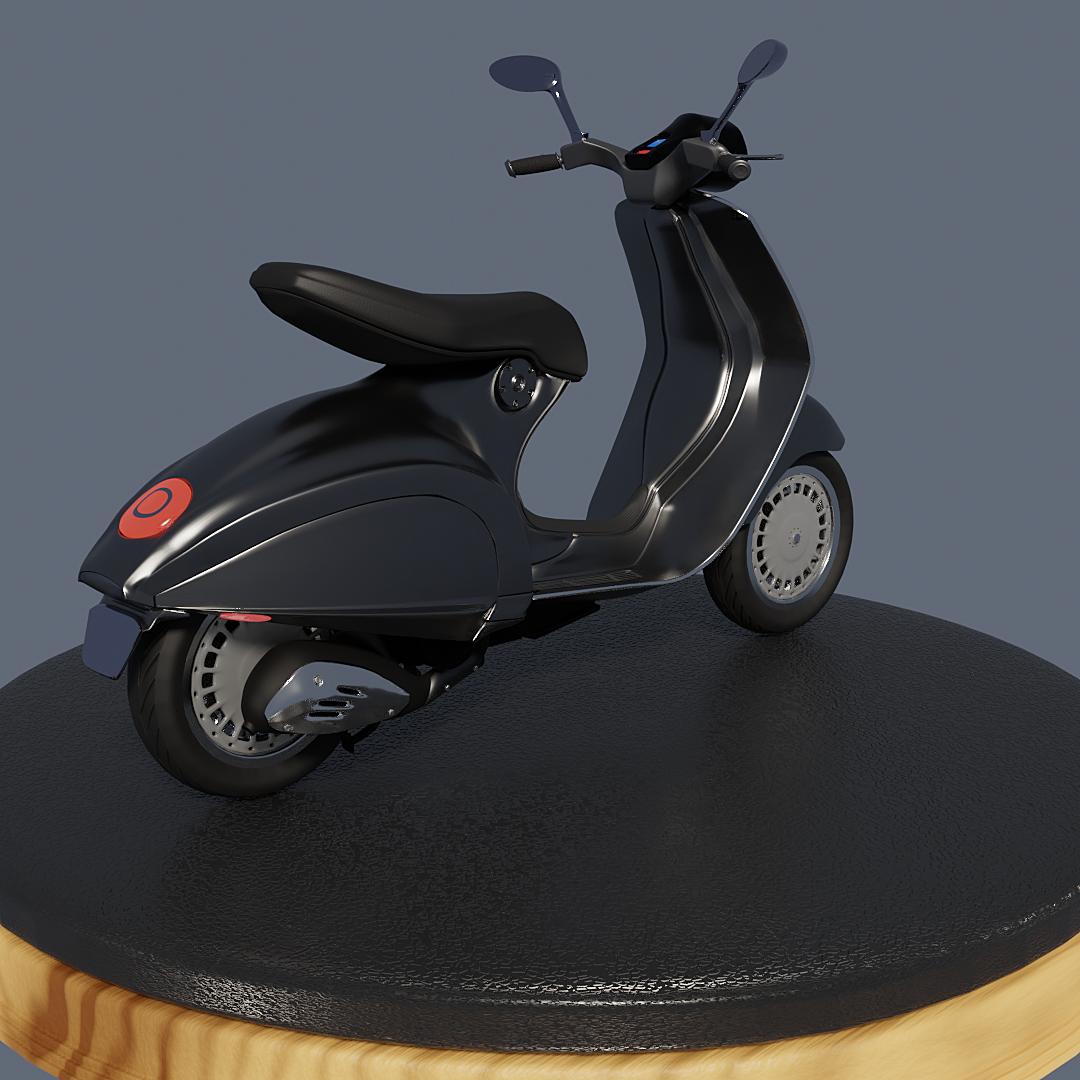 Vespa Moped