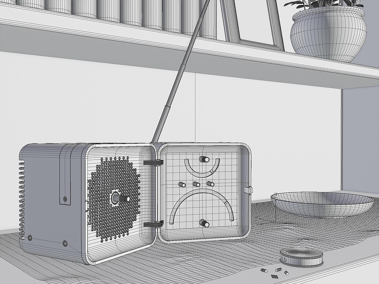 Radio cube Brionvega