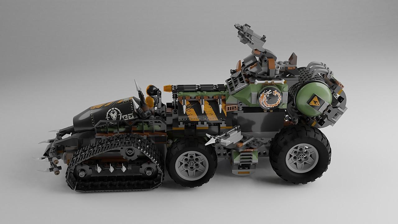 Lego Dieselnaut
