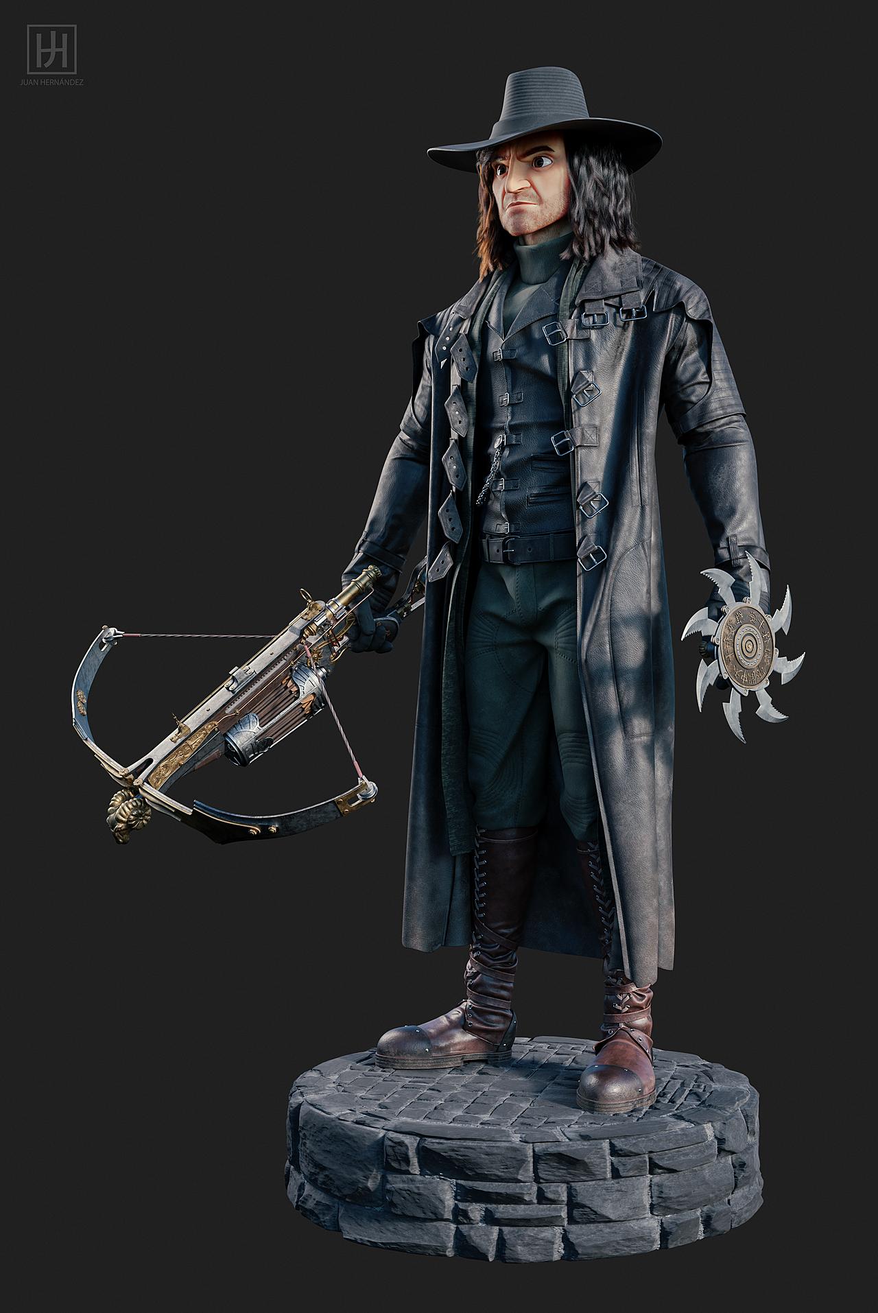 Stylized Van Helsing