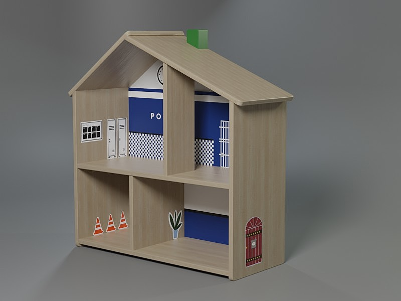 Toy house from Ikea