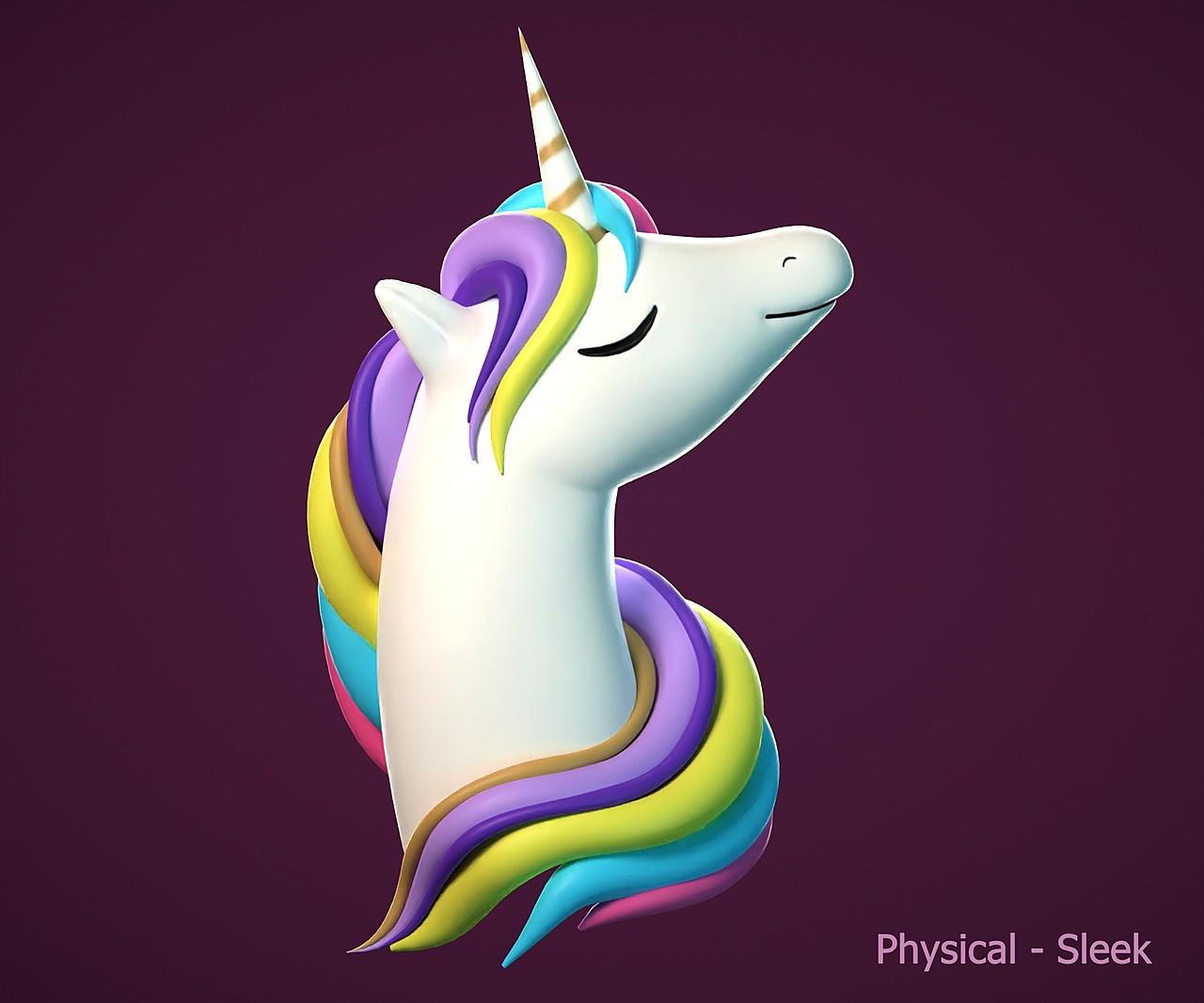 Fabulous unicorn - SculptJanuary2020, day 28