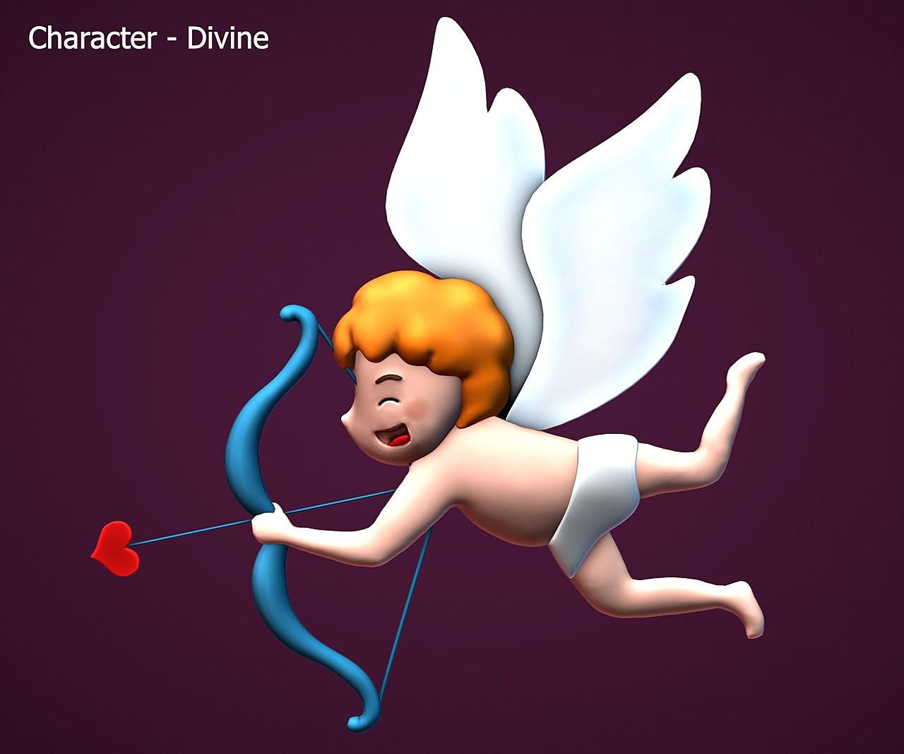 Cupid - SculptJanuary2020, day 31