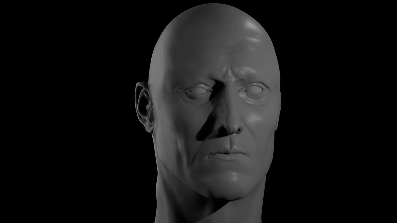 Trying Realistic Sculpting
