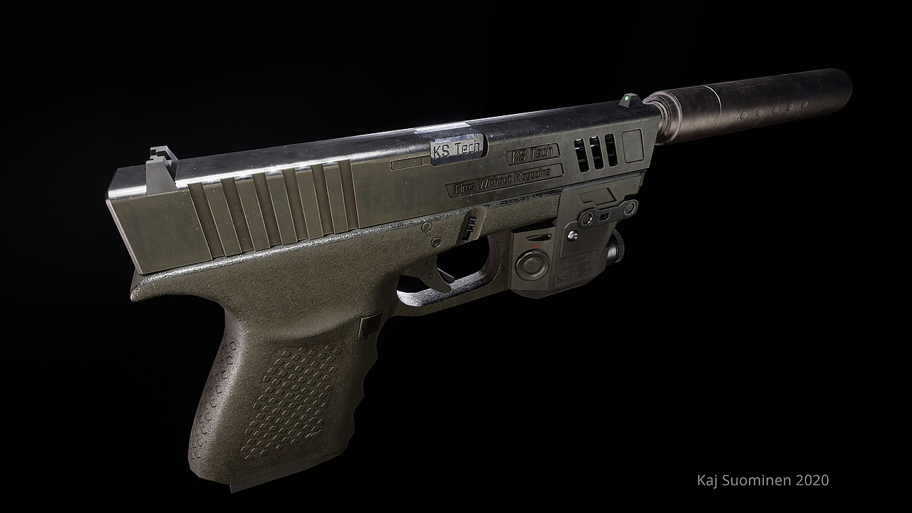 Tactical Pistol KS TECH 20