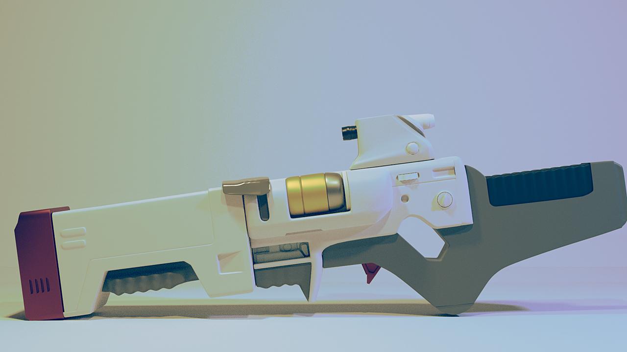 Institute lazer rifle