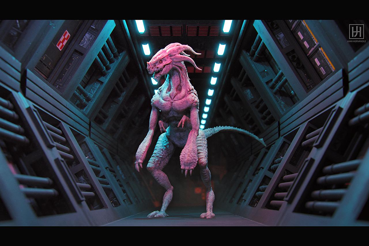 Andromeda Design Contest: Unknown Creature