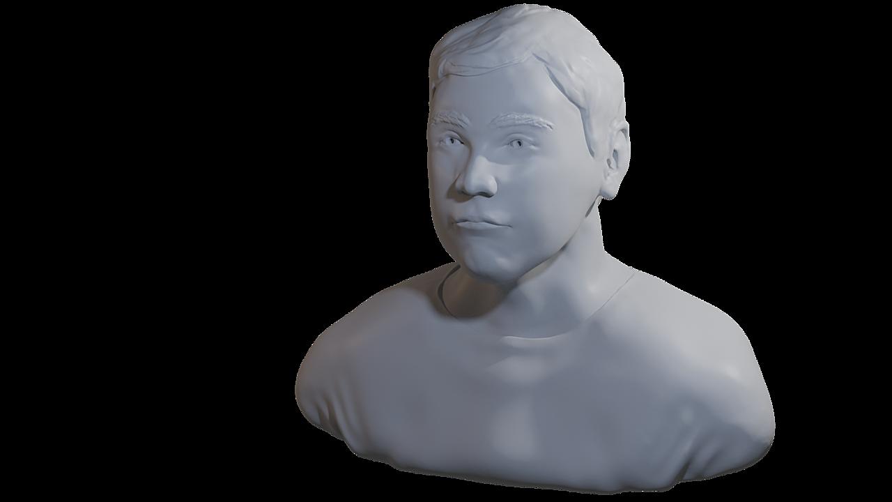 Self Portrait Sculpt