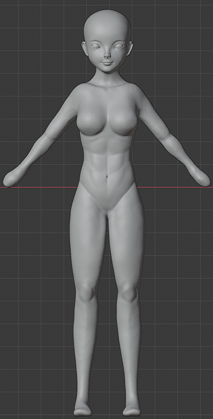 Update character girl
