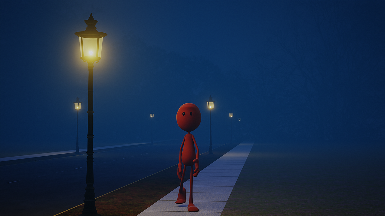 Red Nelb Goes for a Walk
