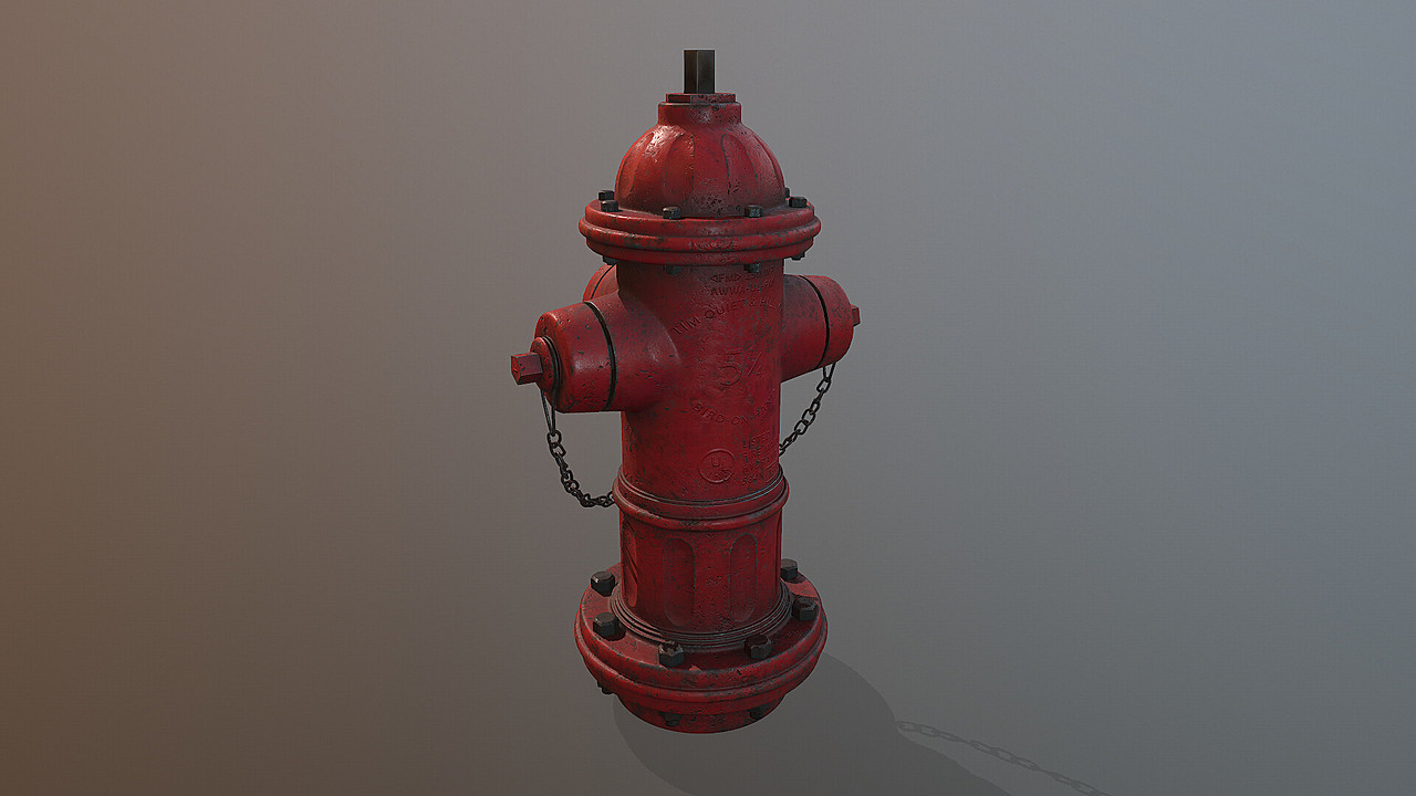 Fire Hydrant from P.T. Place