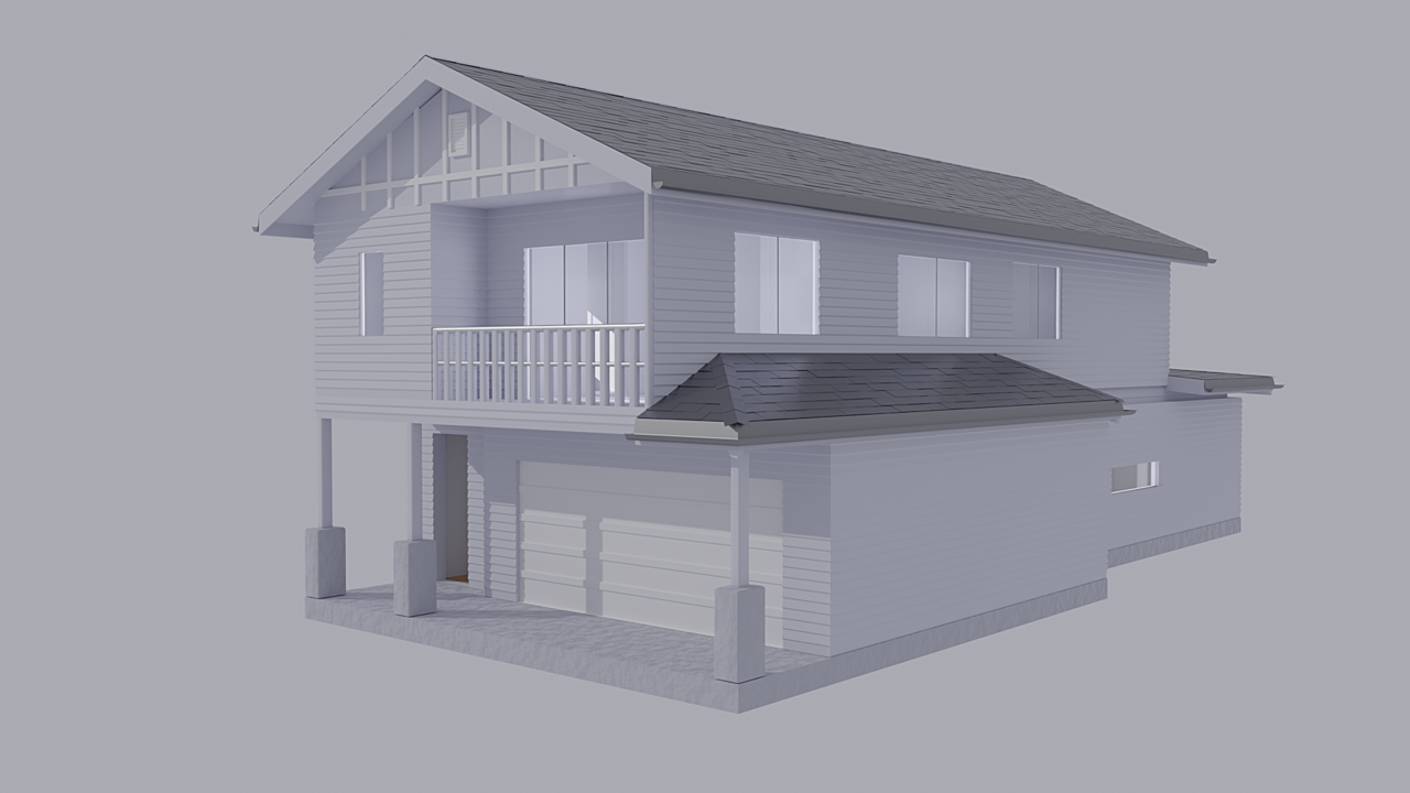 House - Final Render