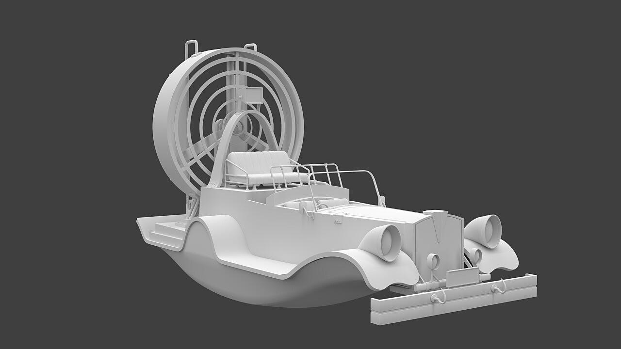 Vintage Airboat
