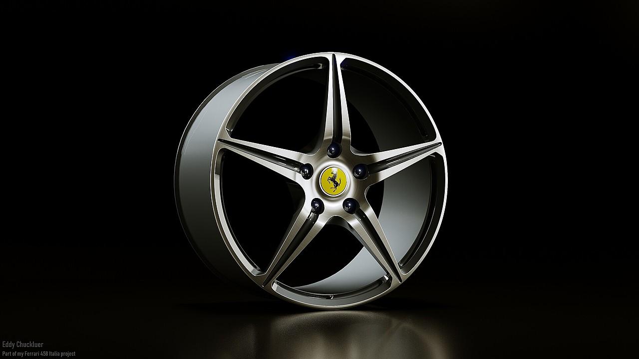Ferrari 458 Italia OEM Rim