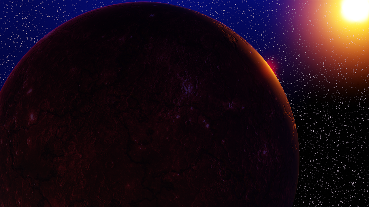 Create a Procedural Space Shader Background