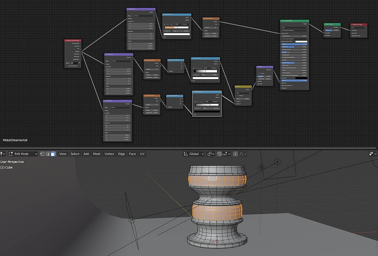 learning PBR materials
