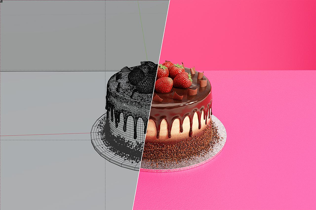 Homemade Yummy Chocolate Cake